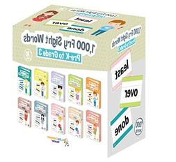 Little Champion Reader 1,000 Sight Fry Dolch Word-List Flash