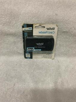 Vivitar 50-In-1 Plug & Play Memory Card Reader/Writer + 2-Po