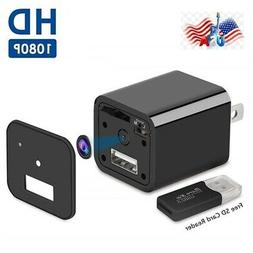 1080p usb wall charger adapter video recorder