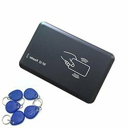 125KHZ RFID ID Card Reader Writer Copier Duplicator For Acce