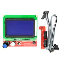 Toogoo 12864 LCD Ramps Smart Parts RAMPS 1.4 Controller Cont
