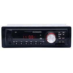Toogoo 1Din Car Radio Auto Audio Stereo 12V Support FM AUX U