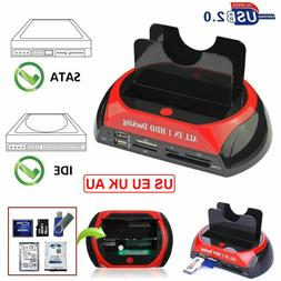 2.5 Inch 3.5 Inch HDD Docking Station eSATA USB2.0 to IDE SA