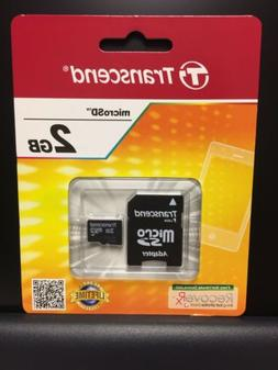 2gb microsd card with sd adapter ts2gusdc