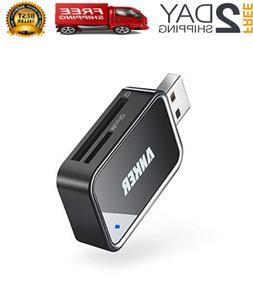 2in1 USB 3.0 Portable Card Reader for SDXC, SDHC, SD, MMC, R