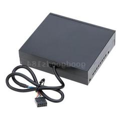 "3.5"" inch Media Card Reader USB 2.0 HUB All in 1 Internal PC"