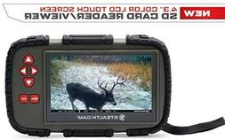 "Stealth Cam 4.3"" Color Lcd Touch Screen Sd Card Reader/ View"