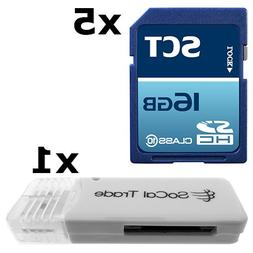 5 PACK - SCT 16GB SD HC Class 10 Secure Digital Ultimate Ext