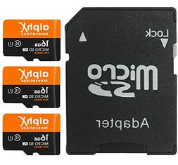5 Piece Bundle - AlphX 16gb  Micro SD High Speed Class 10 Me