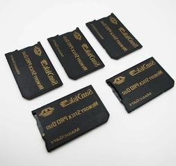 5Pcs Genuine Sandisk MicroSD TF to MS Pro Duo Card Adapter R