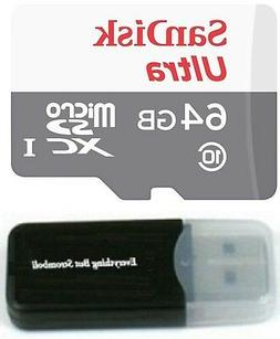 64GB Sandisk Micro SD HC SDXC Memory Card for LG V30  G3 G5