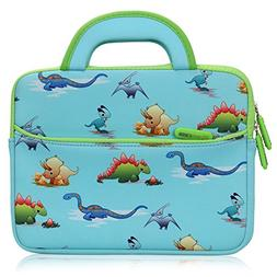 Evecase 8.9-10.1 inch Kid Tablet Sleeve, Cute Dinosaurs Them