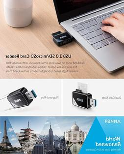 Anker 8-in-1 USB 3.0 Portable Card Reader for SDXC, SDHC, SD