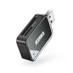 Anker 8-in-1 USB 3.0 Portable Card Reader for SDXC SDHC SD M