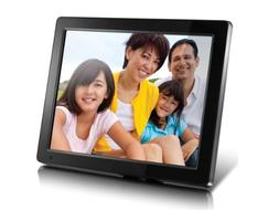 "Aluratek  12"" Hi-Res Digital Photo Frame with 4GB Built-In M"