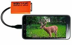 BoneView SD Micro SD Memory Card Reader Trail Camera Viewer