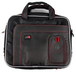 DURAGADGET Black & Red Water Resistant Case With Accessory S