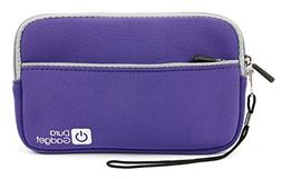 "DURAGADGET Purple ""Travel"" Water Resistant Cover With Front"