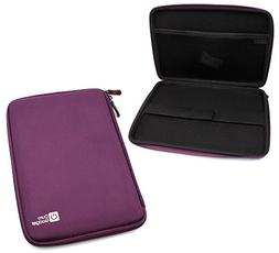 DURAGADGET Tough Water & Scratch-Resistant Purple EVA Zip Ca