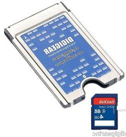Digigear SD SDHC SDXC to PCMCIA PC Card, Adapter Supports, A