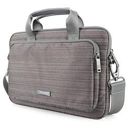 Laptop Bag Evecase 17.3 Inch Classic Padded Briefcase Messen