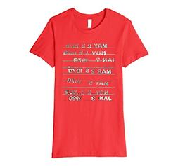 """Womens """"Library Stamp' T-Shirt_Librarian Date Card Shirt 2ac"""