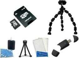 Accessory Kit Includes 4GB High Speed SD Memory Card + High