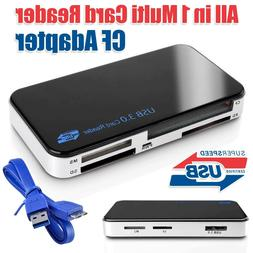 Adapter Card Reader TF Portable USB 3.0 Computer Tablets Sup