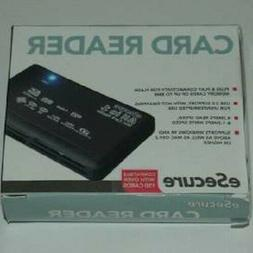 eSecure All-in-1 USB Card Reader for all Digital Memory Card