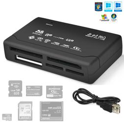 All in 1 USB Compact Flash Multi Card Reader Adapter for SD