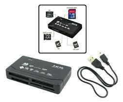 all in one external usb memory card