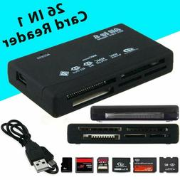 All in One Memory Card Reader USB External SD SDHC Mini Micr