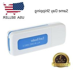 All In One Micro SD to USB Multi-Card Memory Card Adapter Re