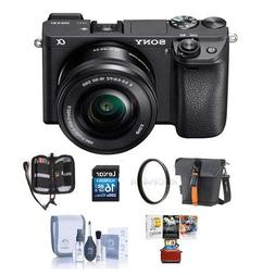 Sony Alpha a6500 Mirrorless Digital Camera Body - Bundle wit