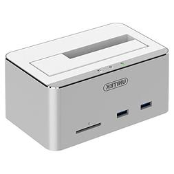 UNITEK Aluminum USB 3.0 to SATA Hard Drive Docking Station w