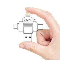 Apple Certified iPhone iPad Card Reader Lightning USB Memory
