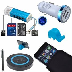 For Apple iPhone Bundle Kits Car Charger Sleeve Bag Wireless