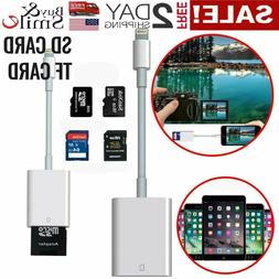 Apple SD Card Reader For iPhone&iPad Lightning Adapter Trail