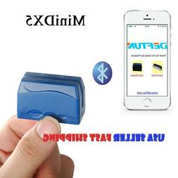 Bluetooth Portable Mobile Magnetic Credit Card Reader Data C
