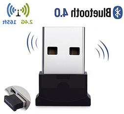 Bluetooth USB Adapter, 4.0 Bluetooth Low Energy 2.4Ghz Range