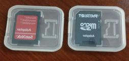BRAND NEW Micro SD to HCXC SDHC with Case Memory Card Adapte
