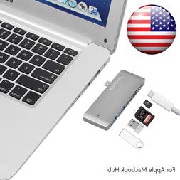 5in1 Type-C USB 3.0 Adapter Charging Data Sync Card Reader f