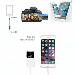 Camera Memory Card Reader Lightning to SD Card adapter For i