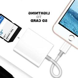 Camera Memory Card Reader Lightning to SD Card adapter iphon