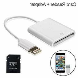 Camera Reader Lightning to SD Card Adapter For iOS 9.2 iPhon