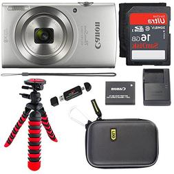 Canon PowerShot ELPH 180 Digital Camera with IS and Smart AU