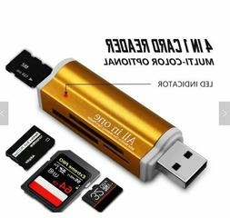 Card Reader All in 1 Multi/functional Smart USB 2.0 TF/M2 MS