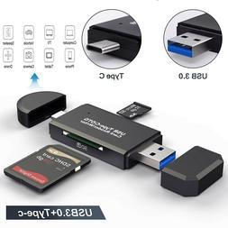Card Reader USB 3.0 Typec  SD/Micro SD TF OTG Memory Card Ad