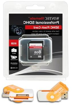 8GB Class 10 SDHC High Speed Memory Card For GARMIN NUVI GPS