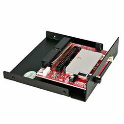 StarTech.com 3.5in Drive Bay IDE to Single CF SSD Adapter Ca